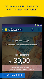 Créditos NFP (Nota Paulista)- screenshot thumbnail