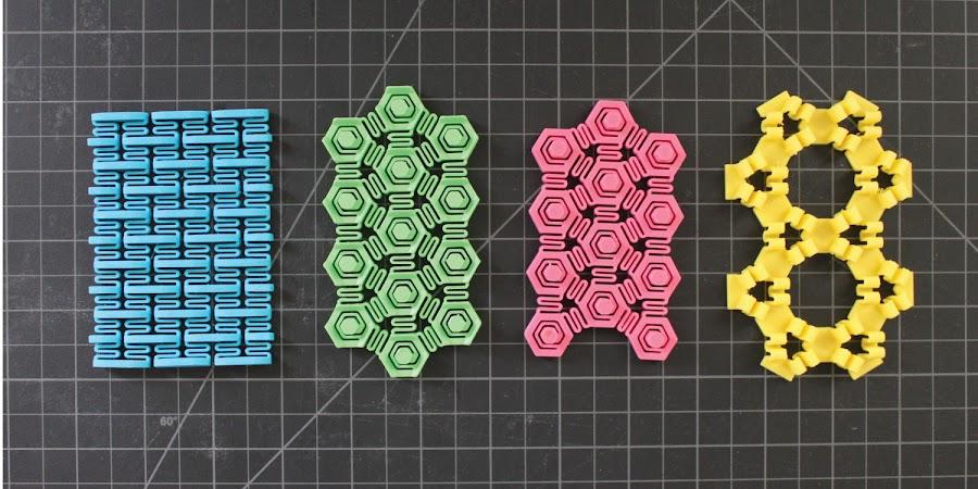 3D Printed Sponge Prototypes