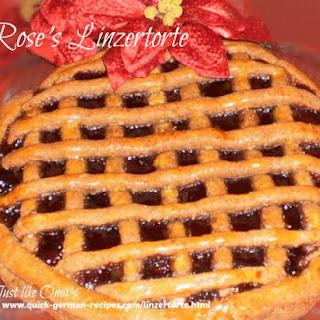 Rose's Linzertorte