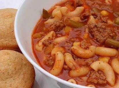 U Pick N' Choose Hearty Beef Vegetable Soup Recipe