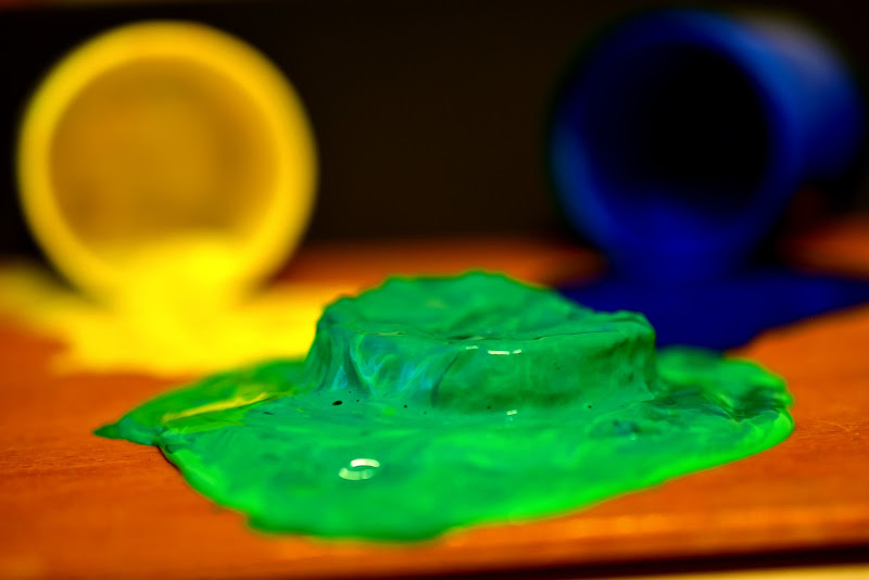Verde colore secondario simbolo di equilibrio di marinafranzone
