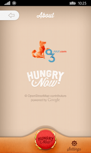 Hungry Now - Fast Food Locator- screenshot thumbnail