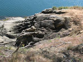 Photo: Day 8: Interesting rock formations at Sucia Island.