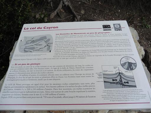 Arrivée au Col du Cayron pour les hotes de l'Esclériade a entrechaux