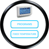 Screenshot of Thermostat CH140 gsm