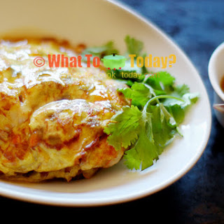 OMELETTE WITH GRAVY / EGG FOO YONG