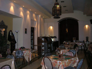 """Photo: Иерусалим. Столовая в гостинице """"Новый Империал"""""""