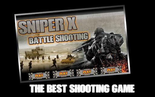 Sniper X Battle Shooting