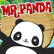 Panda Funny Jumping