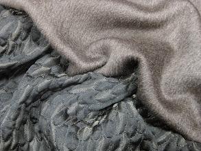 Photo: Ткань:Альпака двойная ш.150см.цена 8000руб.                                       Ткань:Жаккард ш.130см.цена3200руб.            Коллекция Armani