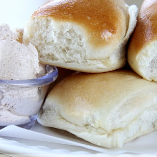 Texas Roadhouse Roll Recipe with Honey Cinnamon Butter {Copycat}.