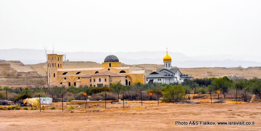 Русское Подворье на Иорданской стороне в Каср эль Яхуд – истинном месте Крещения Иисуса Христа.