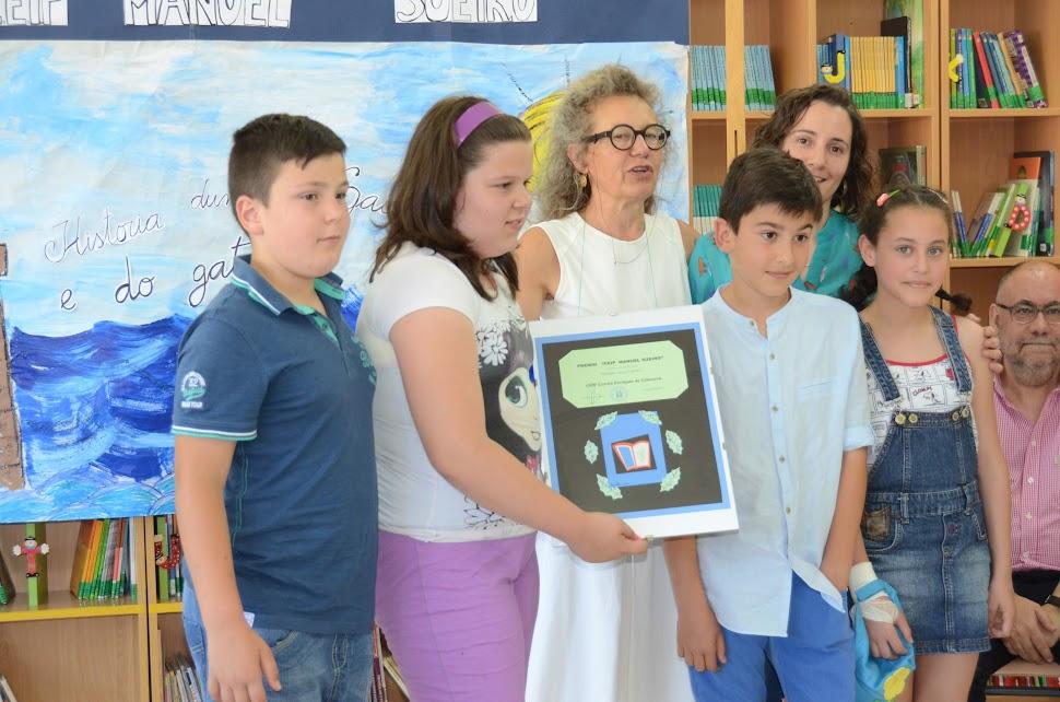 Gañadores do concurso literario