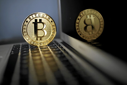 A bitcoin coin is seen in an illustration picture taken at La Maison du Bitcoin in Paris, France. Picture: REUTERS