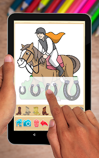 Horse Coloring Book- screenshot thumbnail