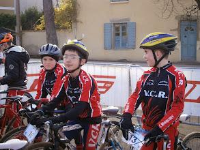 Photo: Les trois représentants du VCR sur cette course : Émeric, Vincent et Quentin.