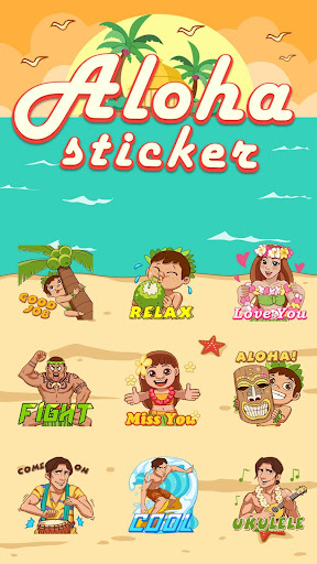 Aloha Summer Sticker for Snapchat v2.0 screenshots 2