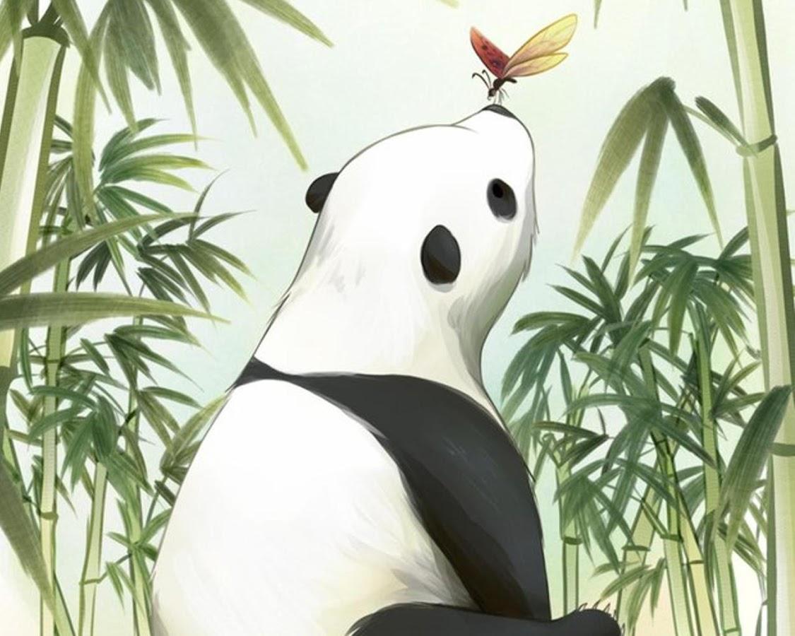 Gmail panda theme - Panda Anime Wallpapers Screenshot