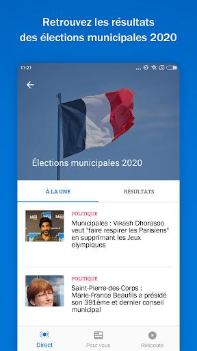 France Bleu - actus en ru00e9gion, radios locales screenshots 1