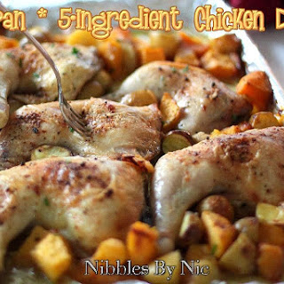 One Pan 5-Ingredient Chicken Dinner