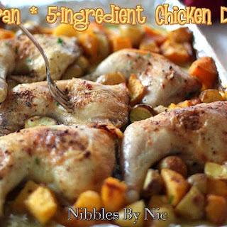 One Pan 5-Ingredient Chicken Dinner
