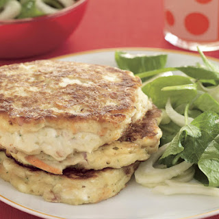 Ham, Cheese and Veggie Fritters.