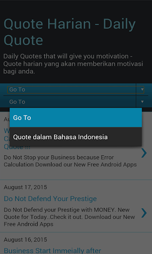 mmc daily quote updated daily apk app for android
