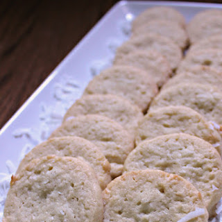 Sliced Coconut Cookie