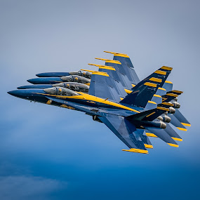 US Navy Blue Angels by Rodney Rodriguez - Transportation Airplanes