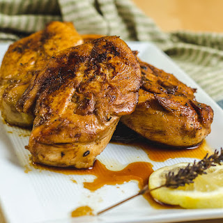 Lavender Lemon Grilled Chicken Recipe