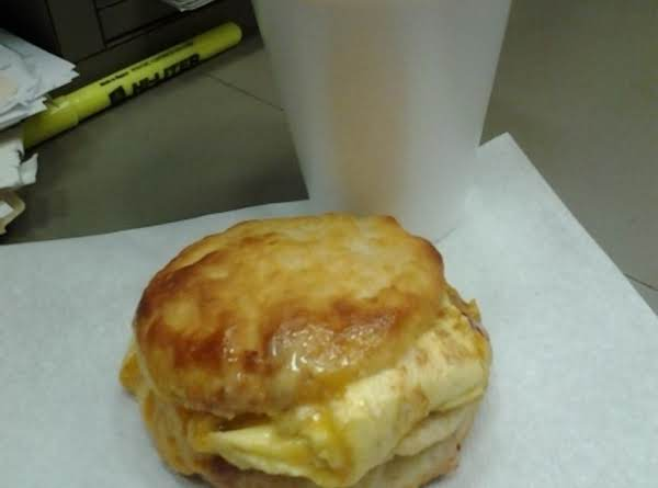 On The Go Breakfast Biscuit