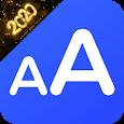 Big Font - Change Font Size - Enlarge font size