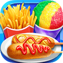 Carnival Fair Food - Crazy Yummy Foods Galaxy icon