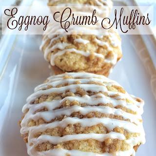 Eggnog Crumb Muffins