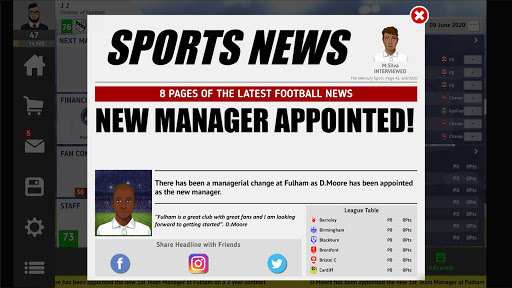 Club Soccer Director 2021 - Soccer Club Manager screenshots 11