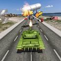 Tank Traffic Racing War icon