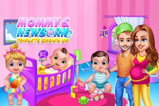 Mommy Daddy & Newborn Triplets Grown Up Nursery 1.0.5 de.gamequotes.net 1
