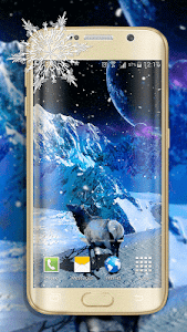 Snow Live Wallpaper screenshot 2
