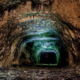 Cave near sea by Jovan Miljanic - Nature Up Close Rock & Stone