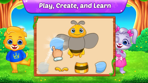 Puzzle Kids - Animals Shapes and Jigsaw Puzzles screenshots 3