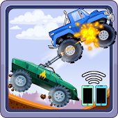 Two players game - Crazy racing via wifi (free)