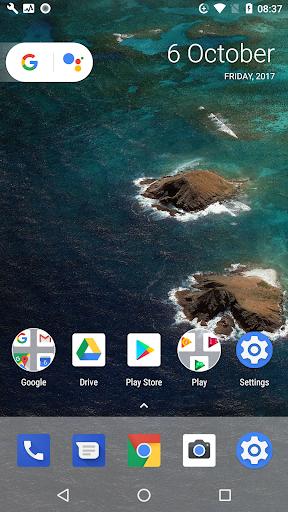 Oreo UI for Android BETA 1.2 screenshots 1