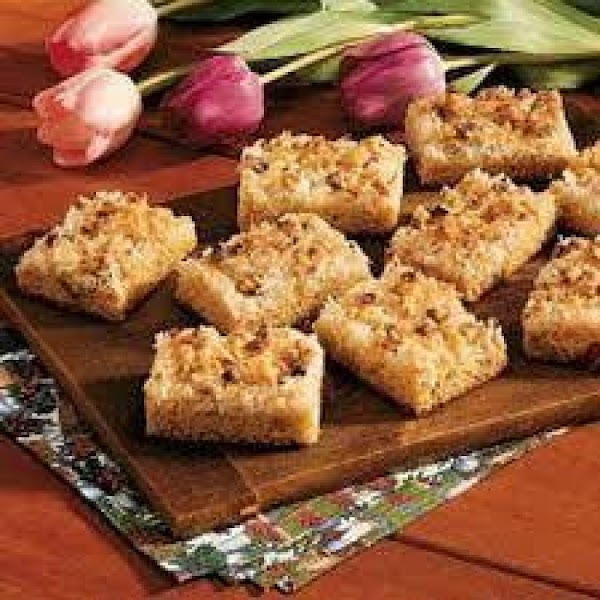 Salted Nut Bars Recipe
