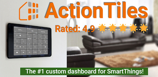 ActionTiles SmartThings custom web dashboard maker - by