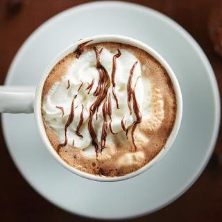 Crockpot Nutella Hot Chocolate.
