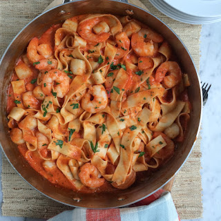 Seafood Pappardelle Recipes.