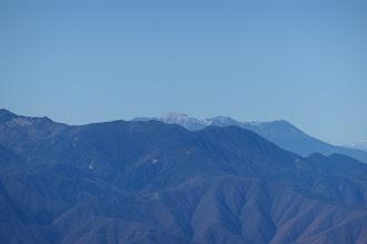 奥に木曽御嶽山