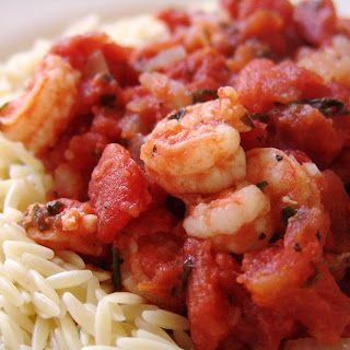 Athenian Shrimp and Orzo