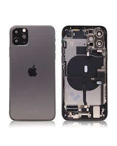 iPhone 11 Pro Housing with small parts Original Pulled Space Gray