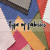 Type of fabrics Cloth textile